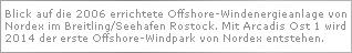 Nordex startet den Ausbau des Offshore-Windenergiegeschäftes