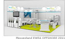 Messestand EWEA OFFSHORE 2011