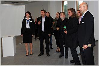 Vereinsdarstellung im Landeszentrum für erneuerbare Energien in Neustrelitz (Leea)