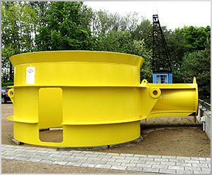 IGA Rostock 2003 GmbH, Großobjekt der Offshore-Industrie neu im Museum ausgestellt