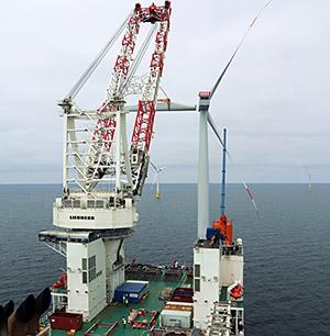 EnBW: Offshore-Windpark Baltic 2 auf der Zielgeraden