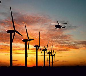 ENERTRAG: Erster Windpark mit automatischer Steuerung der Nachtkennzeichnung