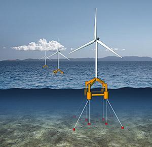 GICON: Bau- und Betriebsgenehmigung für Schwimmendes Offshore-Fundament erteilt