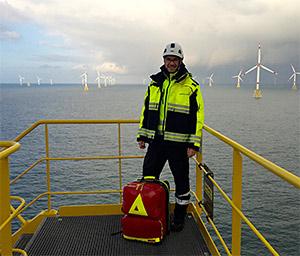 Johanniter: Erstversorgung auf Offshore-Plattformen in der Nordsee