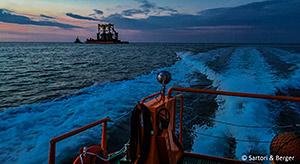 """Sartori """" Berger: Tragkonstruktion für Offshore-Konverterplattform DolWin gamma ausgeschifft"""